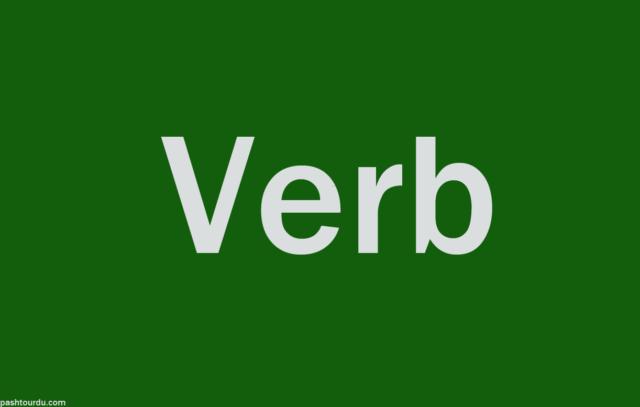 Verb Meaning in Urdu
